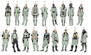 cyberpunk fashion by Chenthooran