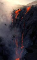 Lava  Falls by Chenthooran