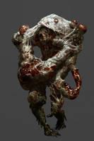 Necromorph 4 by Chenthooran