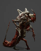 Necromorph 5 by Chenthooran