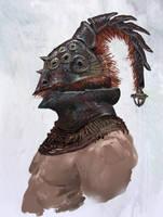 beetle gladiator helmet by Chenthooran