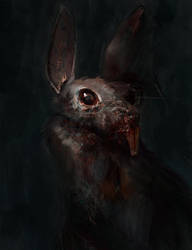 killer rabbit by Chenthooran