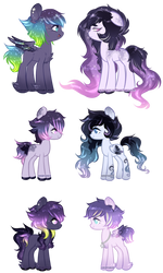 [Space Pony Adopts] [CLOSED] by Mochi-Munchi