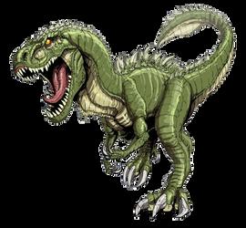 Neo Godzillasaurs render by godzilla199999