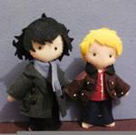 BBC Sherlock and John by melrosestormhaven