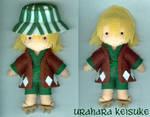 Urahara Keisuke plushie by melrosestormhaven