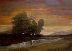 Sunset by Natan-Estivallet