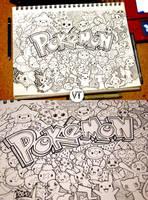 Doodle: Pokemon!!! by vicenteteng