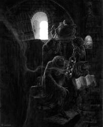 Cult of Mordiggian by nightserpent