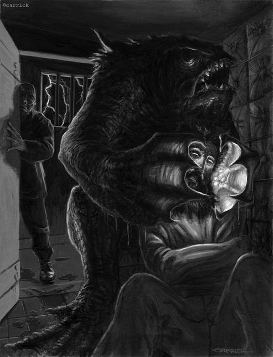 Deep Ones in the Sanitarium by nightserpent