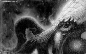 Cthulhu -painting- by nightserpent