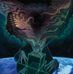 Alien Intelligence by nightserpent