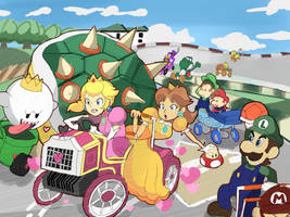 MK: Double Dash - Bowser Shell Madness! by RamyunKing