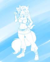 #6 Carmelita Fox (Sly Cooper) by DesertFoxKatbox