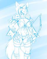 #17 Sylvanas Windrunner (World of Warcraft) by DesertFoxKatbox