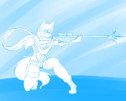 #24 Sinon (Sword Art Online II) by DesertFoxKatbox