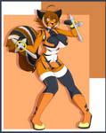#11 Makoto Nanaya (BlazBlue) FUNDED! by DesertFoxKatbox