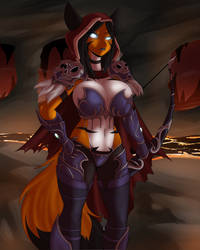 #17 Sylvanas Windrunner (World of Warcraft) FUNDED by DesertFoxKatbox