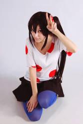 K-On! - Azusa Nakano cosplay by DariaAmbrosia