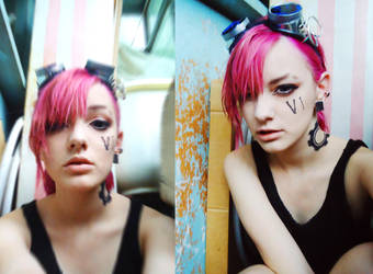 Here comes Vi - cosplay wip makeup test by DariaAmbrosia