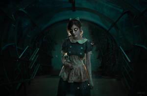 Creepy Little Sister cosplay :3 by DariaAmbrosia