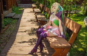Fire Emblem fantasy cosplay - Nowi the Manakete by DariaAmbrosia