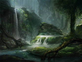 Forest Concept by allisonchinart