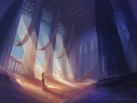 Inside the Ancient Temples (with vid) by allisonchinart