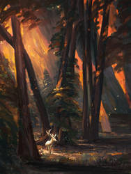 Fiery Autumn by allisonchinart