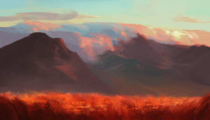 Fiery Lands by allisonchinart