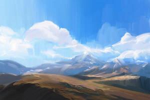 Blue Horizons by allisonchinart