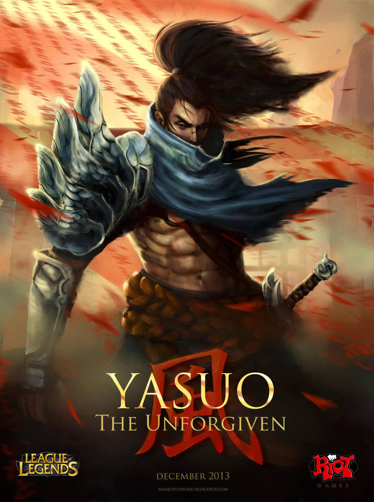 Yasuo the Unforgiven by MarioTeodosio