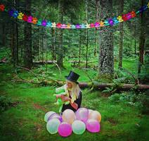 99 Luftballons I by Lady-Schnaps