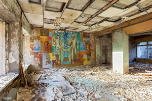 Chernobyl Post Office by Lady-Schnaps