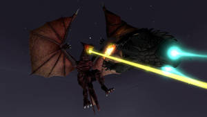 [SFM] Great Duel in the Sky! Gamera vs Gyaos! by NeoUltimo