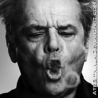 Jack Nicholson Vector by Atebitninja