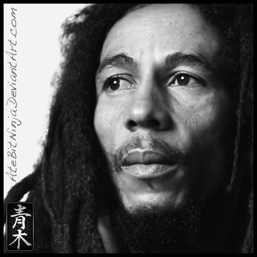 Bob Marley - Vector by Atebitninja