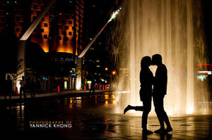 Love by the Fountain by confucius-zero