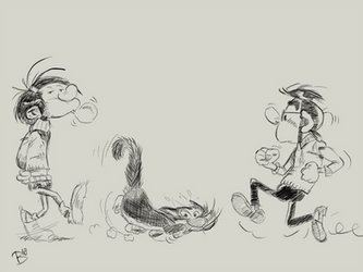 Franquin Study by tBenjaminLarsen