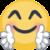 Facebook Hugging Face emoji by Lynus-the-Porcupine