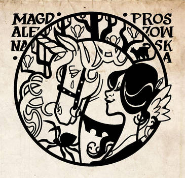 Personal Ex Libris by MagdaPROski