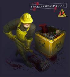 Viscera Cleanup Detail - fanart by MagdaPROski