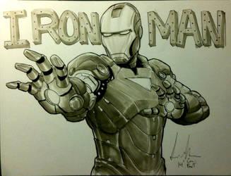 Iron Man by Dreamerwstcoast