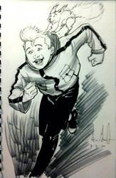Sketch 94: Spirou by Dreamerwstcoast