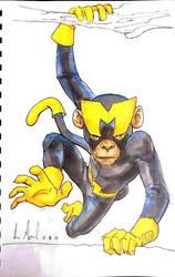 Sketch 99: Monkey by Dreamerwstcoast