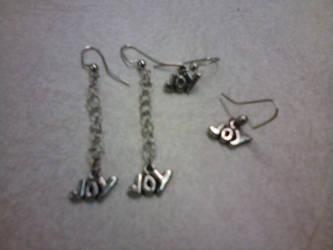 Joy earrings by gingerbered