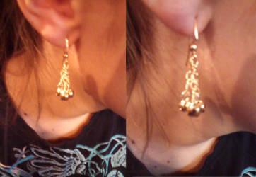 Bell Earrings 2 by gingerbered