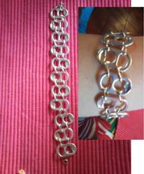 poptab bracelet by gingerbered
