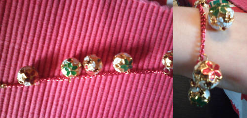 Christmas charm bracelet two by gingerbered