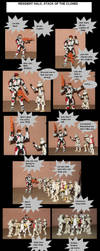 resident halo atack of the clones by angelguardian9